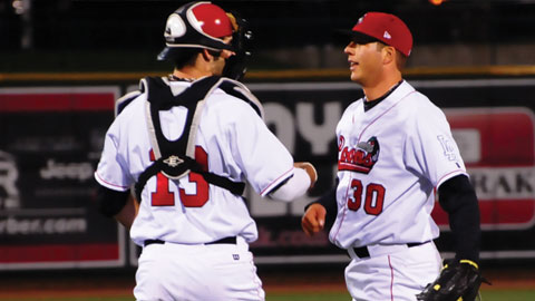 Shawn Tolleson did not allow a run and struck out 33 in 15 relief innings with the Loons.