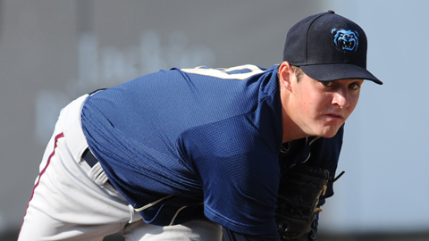 Trevor Bauer struck out 43 batters over 25 2/3 innings last year.