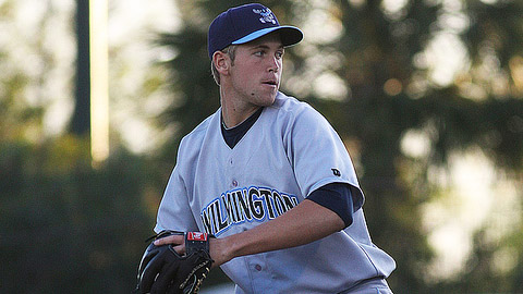 Jason Adam has a 2.36 ERA in five starts for Wilmington.