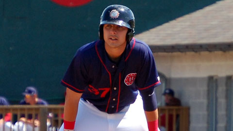 Matthew Skole ranks third among all Minor Leaguers with 40 RBIs this season.