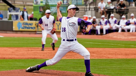 Matthew Heidenreich is 4-1 with a 3.32 ERA for the Dash.