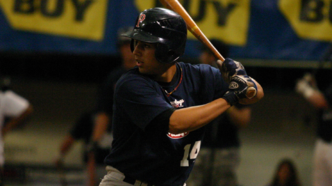 Eric Arce's performance on Monday nearly doubled his RBI total for the season.