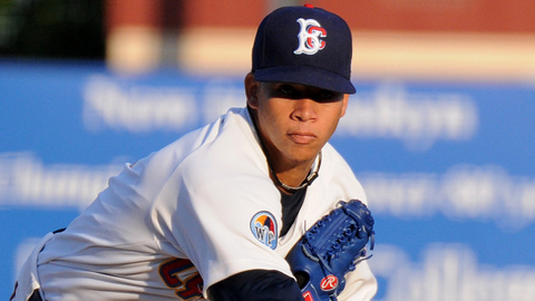 Hansel Robles is one of the Cyclones' four New York-Penn League All-Stars.